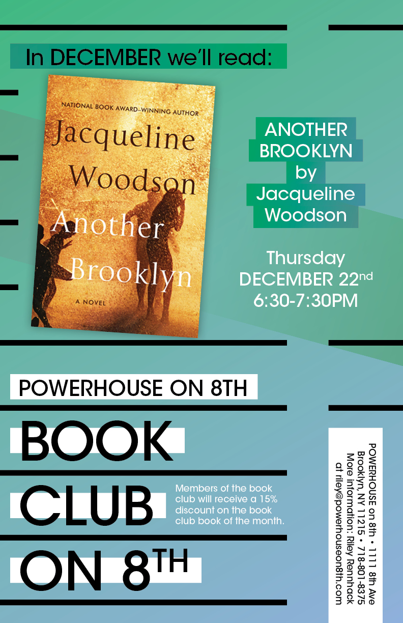 Book Club on 8th: Another Brooklyn by Jacqueline Woodson
