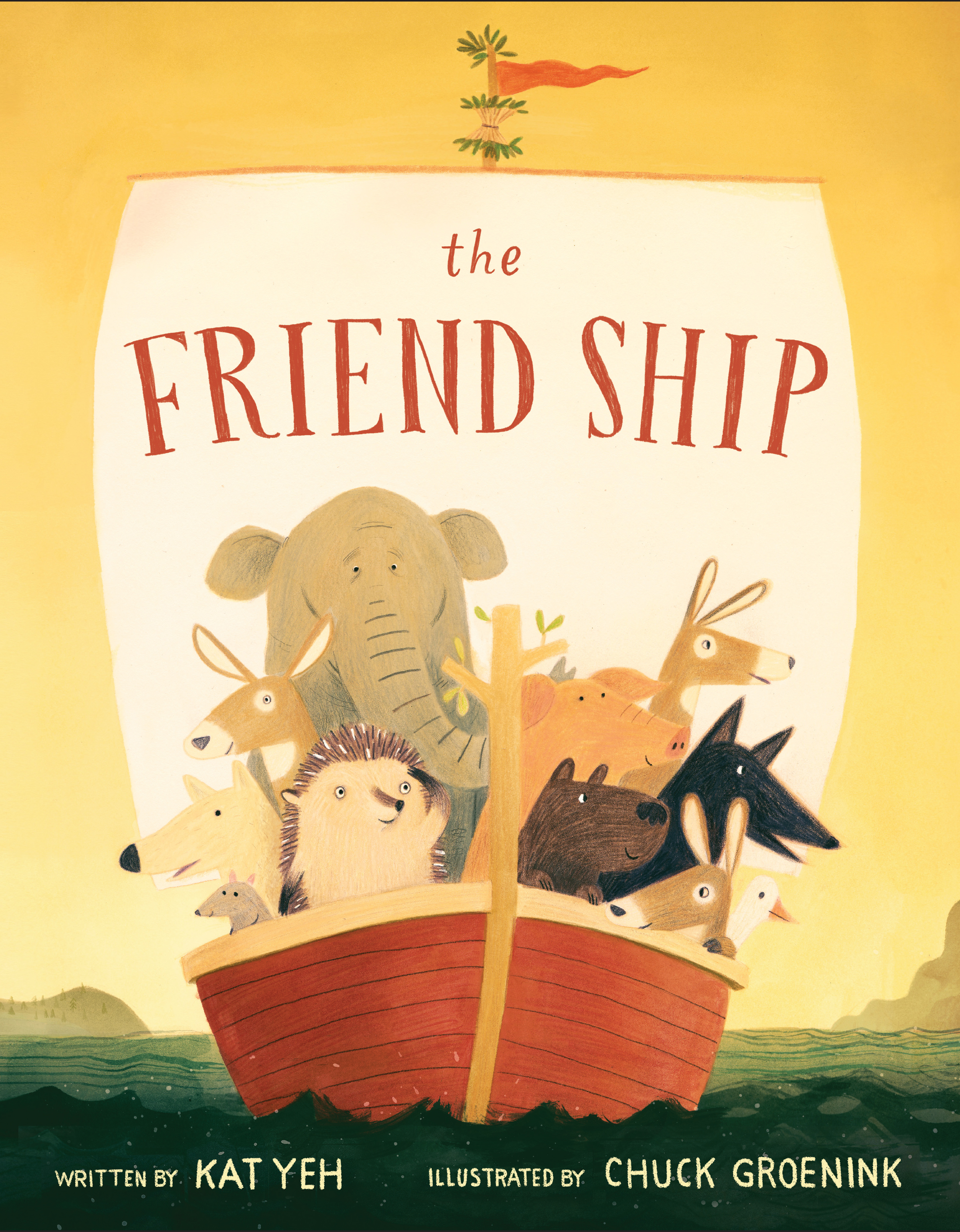 Sunday Story Time with Kat Yeh (Author of The Friend Ship)