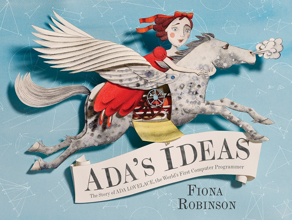 Sunday Story Time with Fiona Robinson (Author of Ada's Ideas)