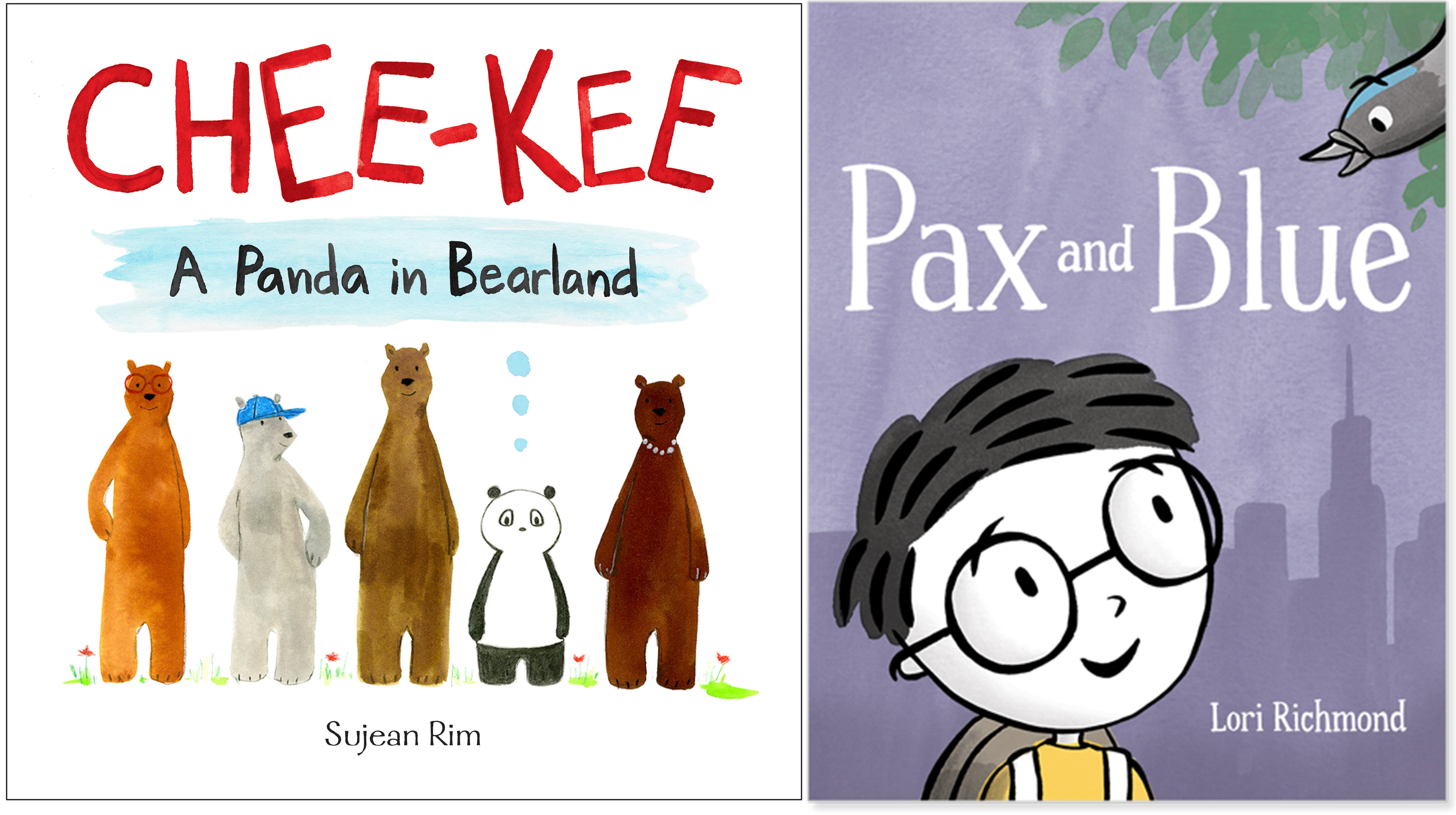 Sunday Story Time with Lori Richmond (Author of Pax and Blue) and Sujean Rim (Author of Chee-Kee)