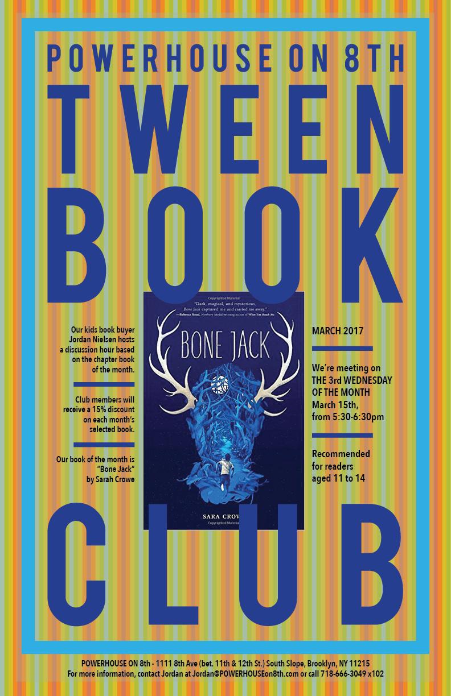 Tween Book Club: Bone Jack by Sara Crowe