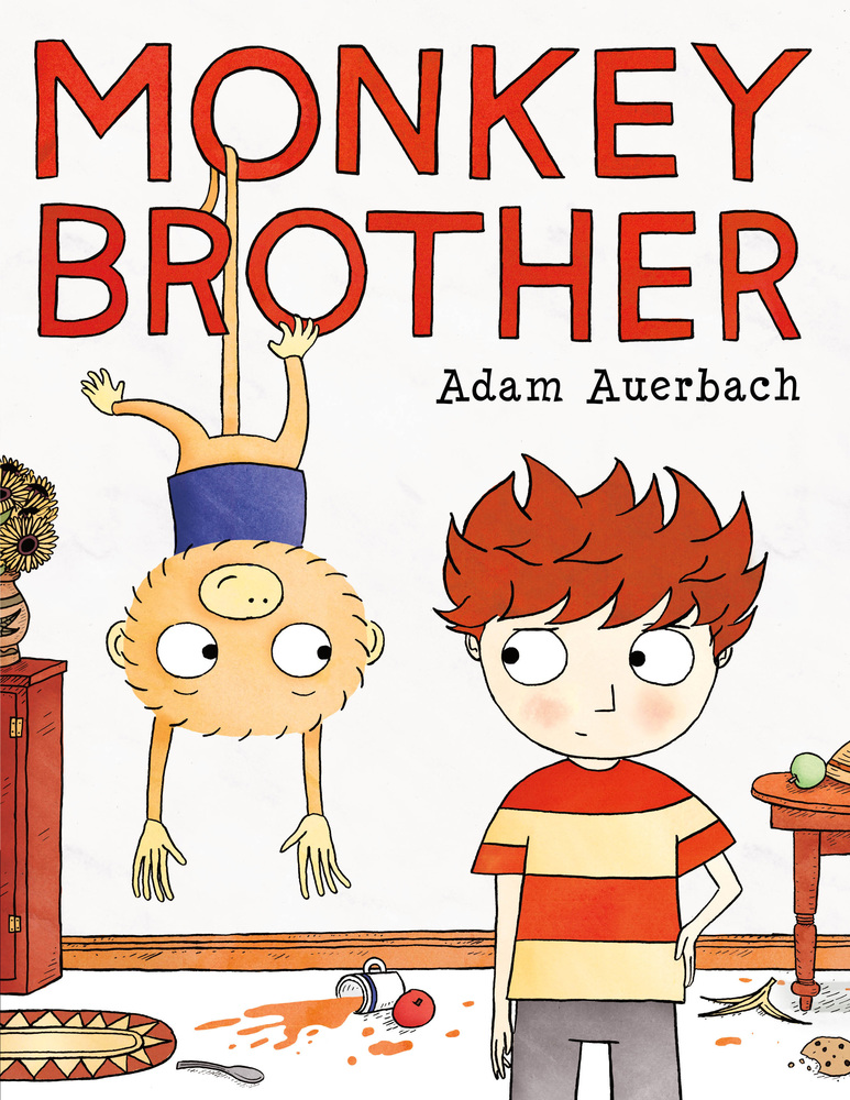Sunday Story Time with Adam Auerbach (Author & Illustrator of Monkey Brother)