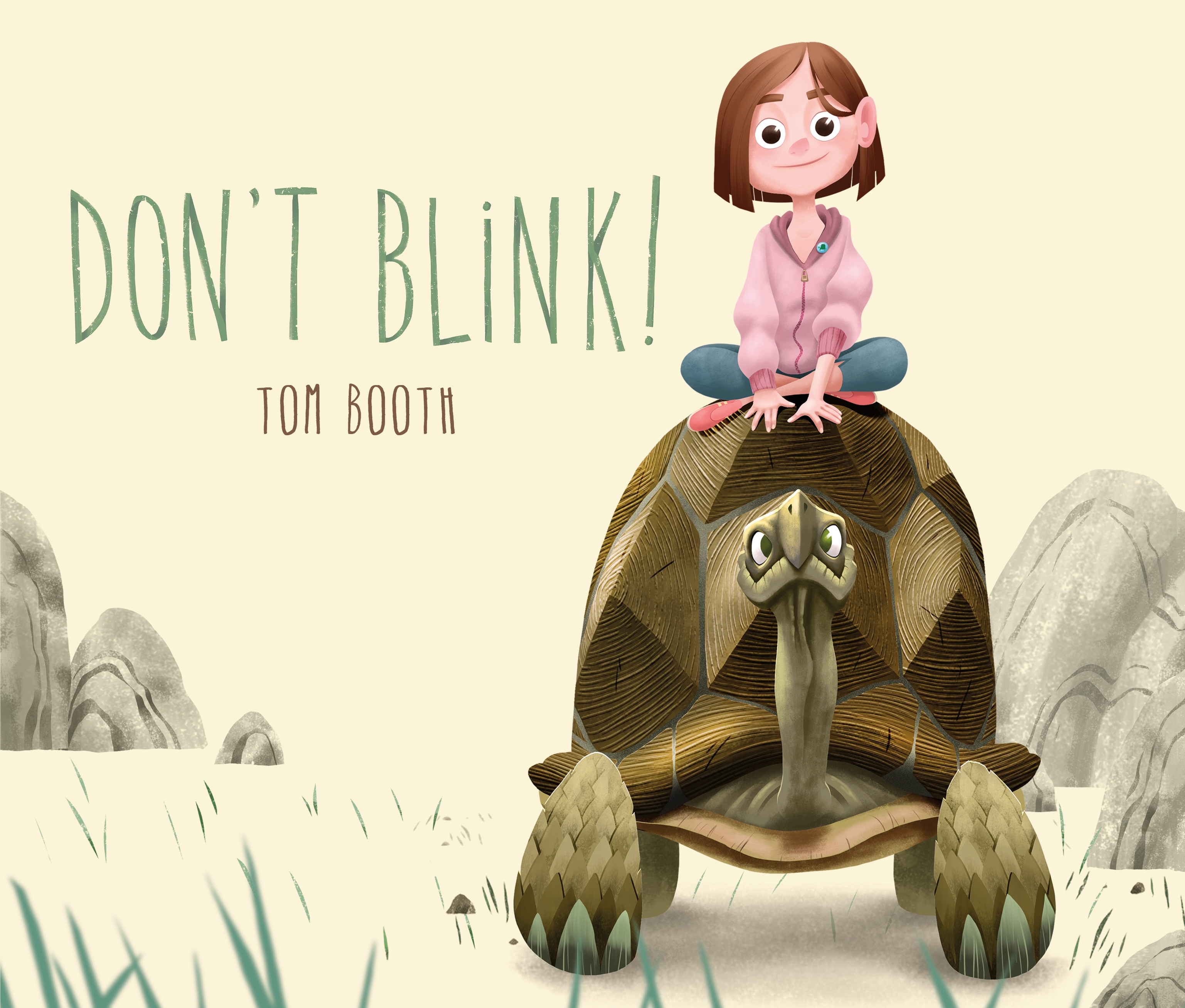 Sunday Story Time with Tom Booth (Author & Illustrator of Don't Blink!)