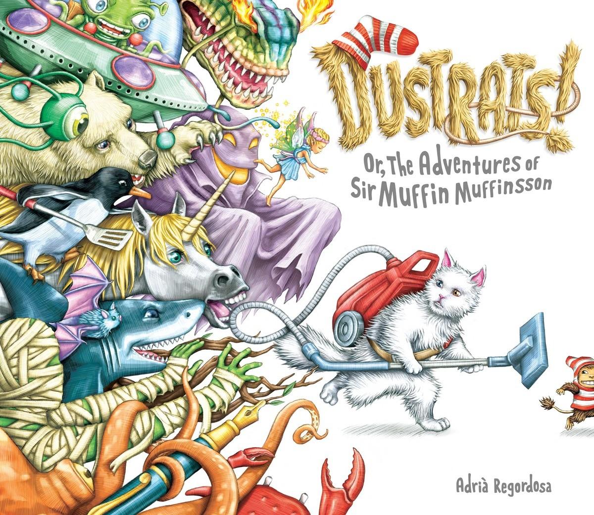 POW! Sunday Story Time with Adrià Regordosa (Author & Illustrator of Dustrats!)