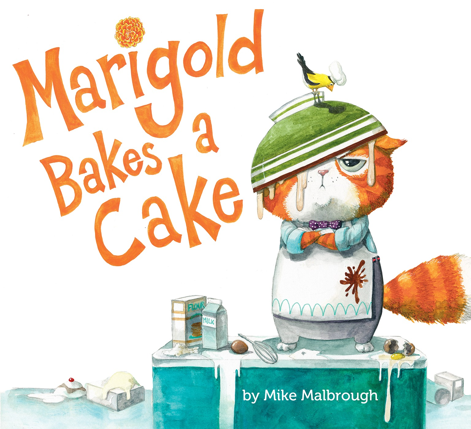 Sunday Story Time with Mike Malbrough (Author & Illustrator of Marigold Bakes a Cake)