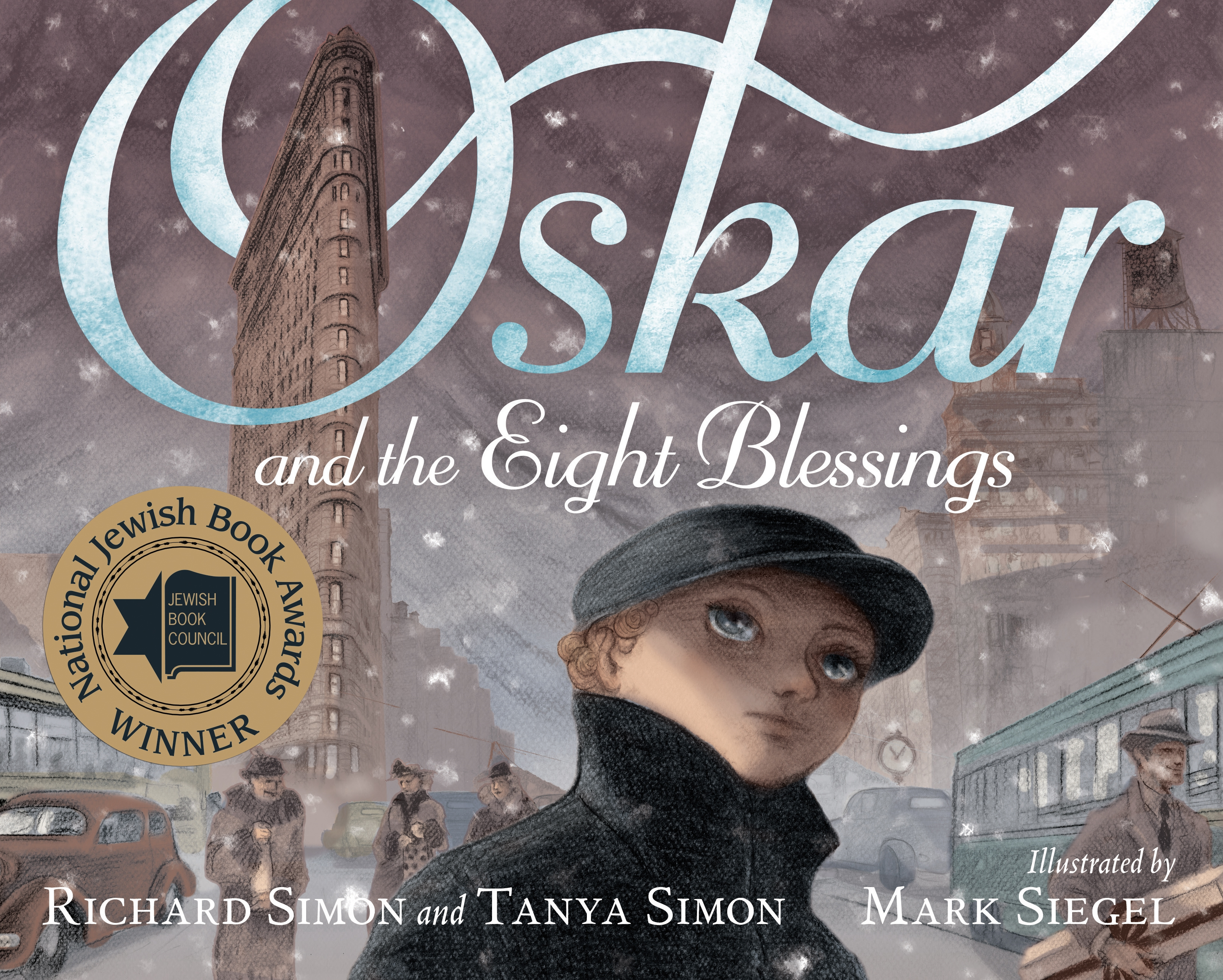Sunday Story Time with Mark Siegel (Illustrator of Oskar and the Eight Blessings)