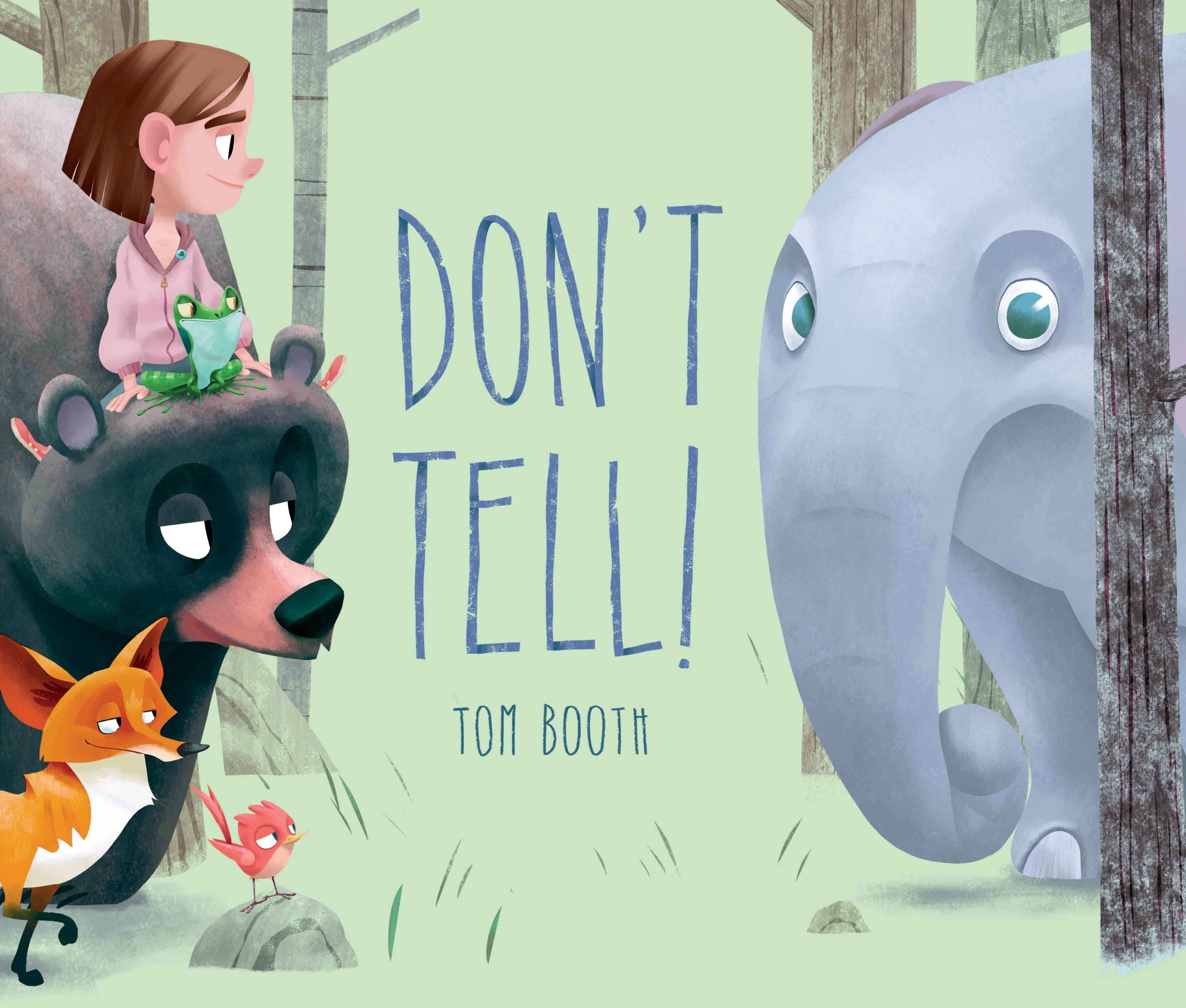 Sunday Story Time with Tom Booth (Author & Illustrator of Don't Tell!)