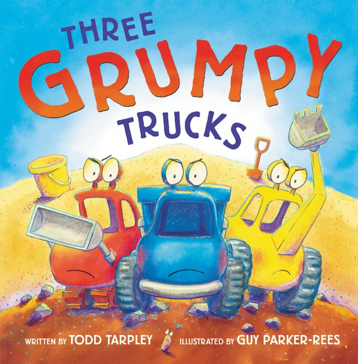 Sunday Story Time with Todd Tarpley (Author of Three Grumpy Trucks)
