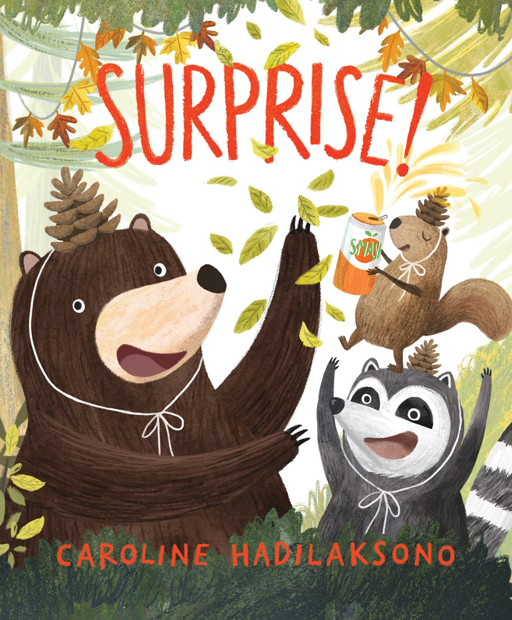 Sunday Story Time with Caroline Hadilaksono (Author & Illustrator of Surprise!)