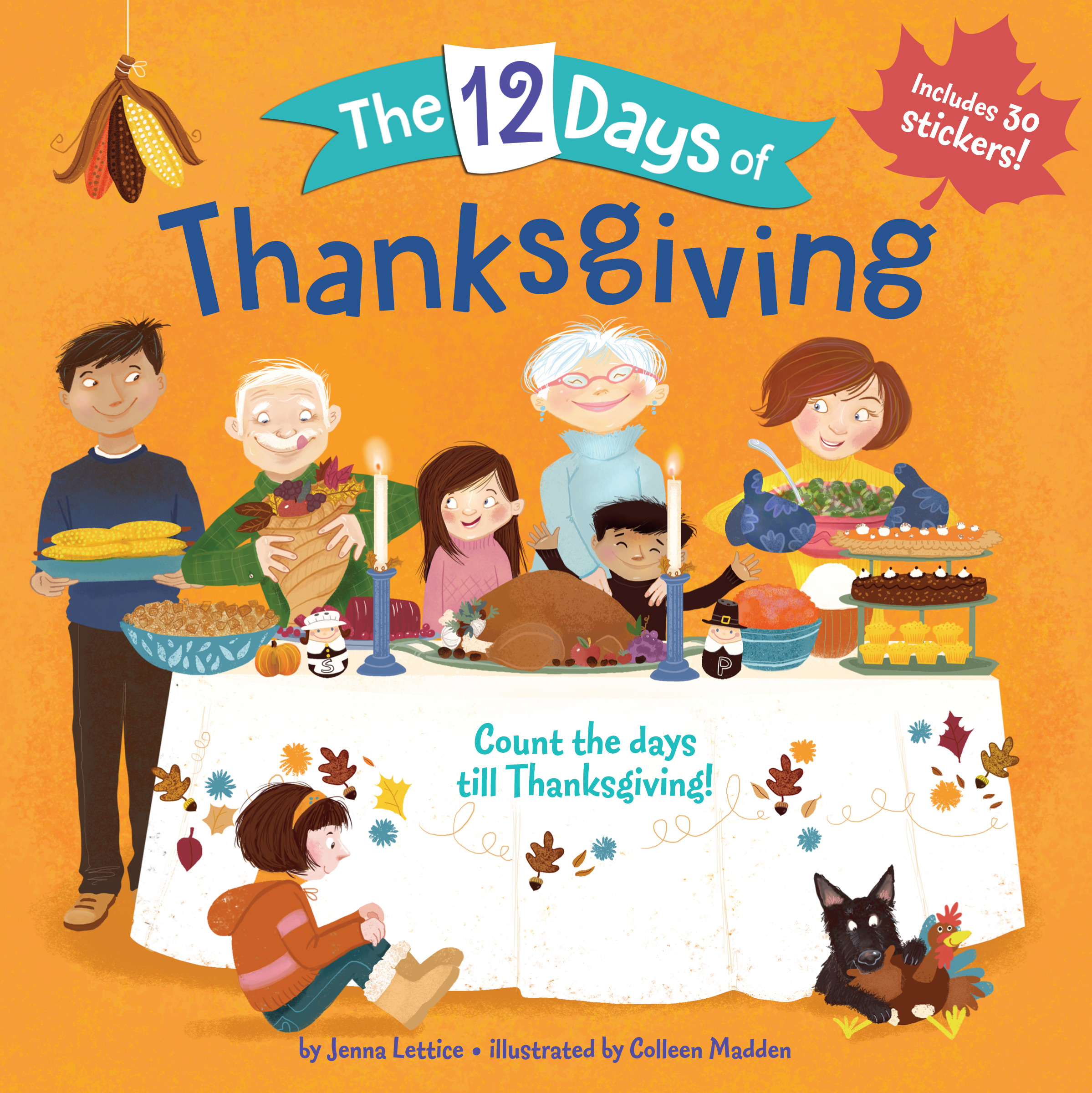 Sunday Story Time with Jenna Lettice (Author of The 12 Days of Thanksgiving)