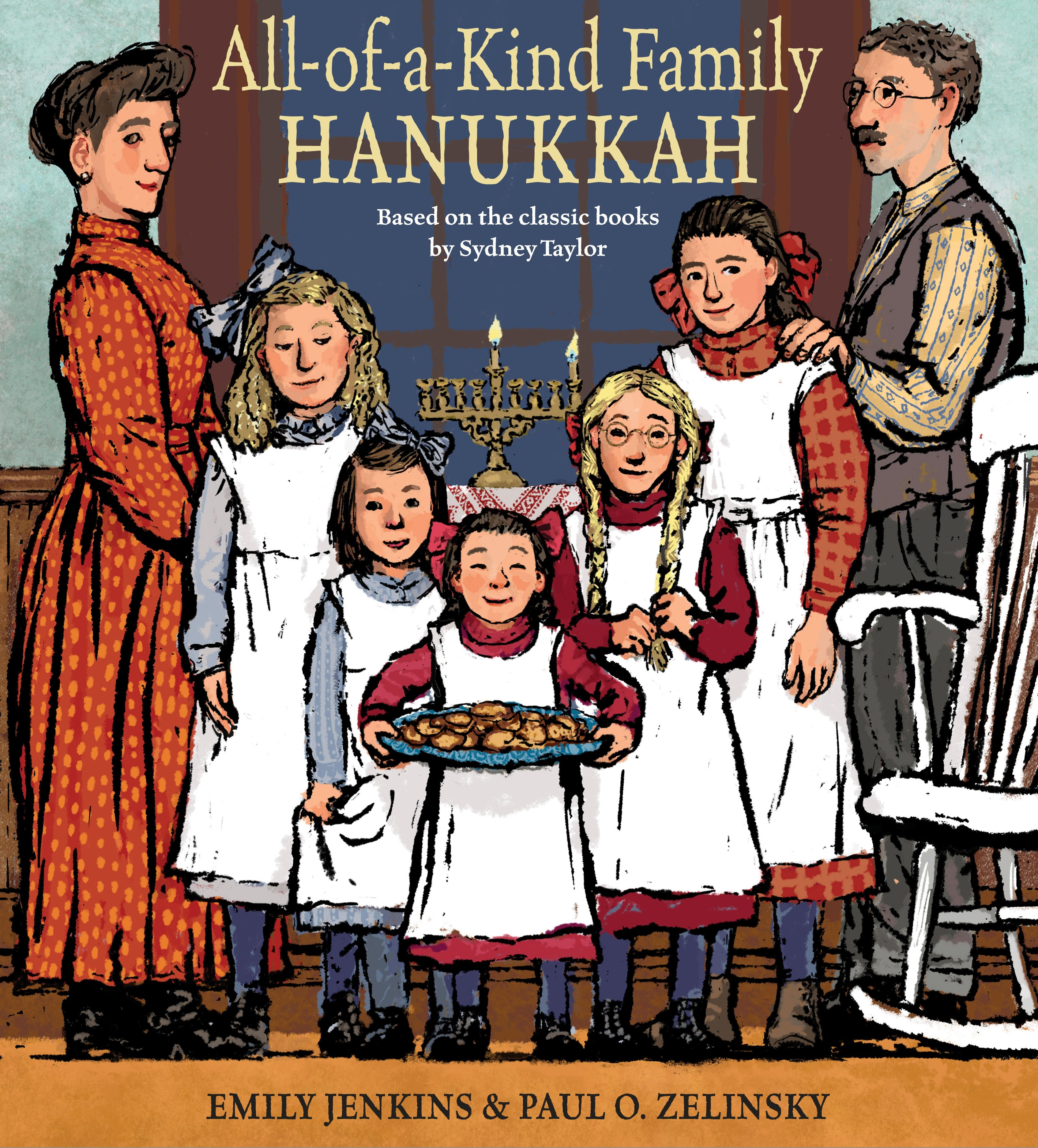 Sunday Story Time with Emily Jenkins & Paul O. Zelinsky (Author & Illustrator of All-of-a-Kind Family Hanukkah)