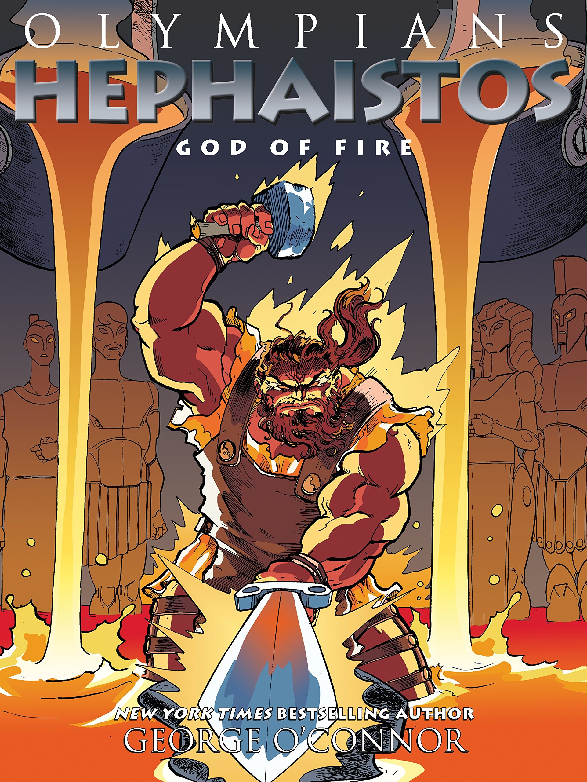 Book Launch & Signing: Olympians: Hephaistos: God of Fire by George O'Connor