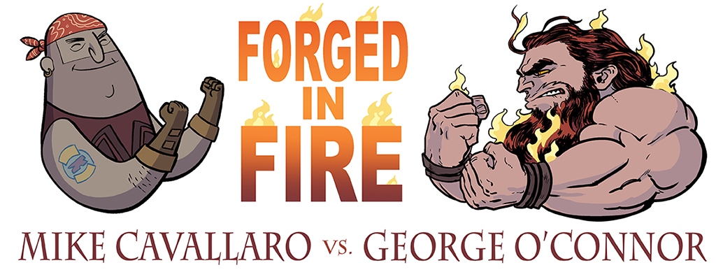 Forged in Fire: George O'Connor and Mike Cavallaro on the Greek and Roman God of Fire