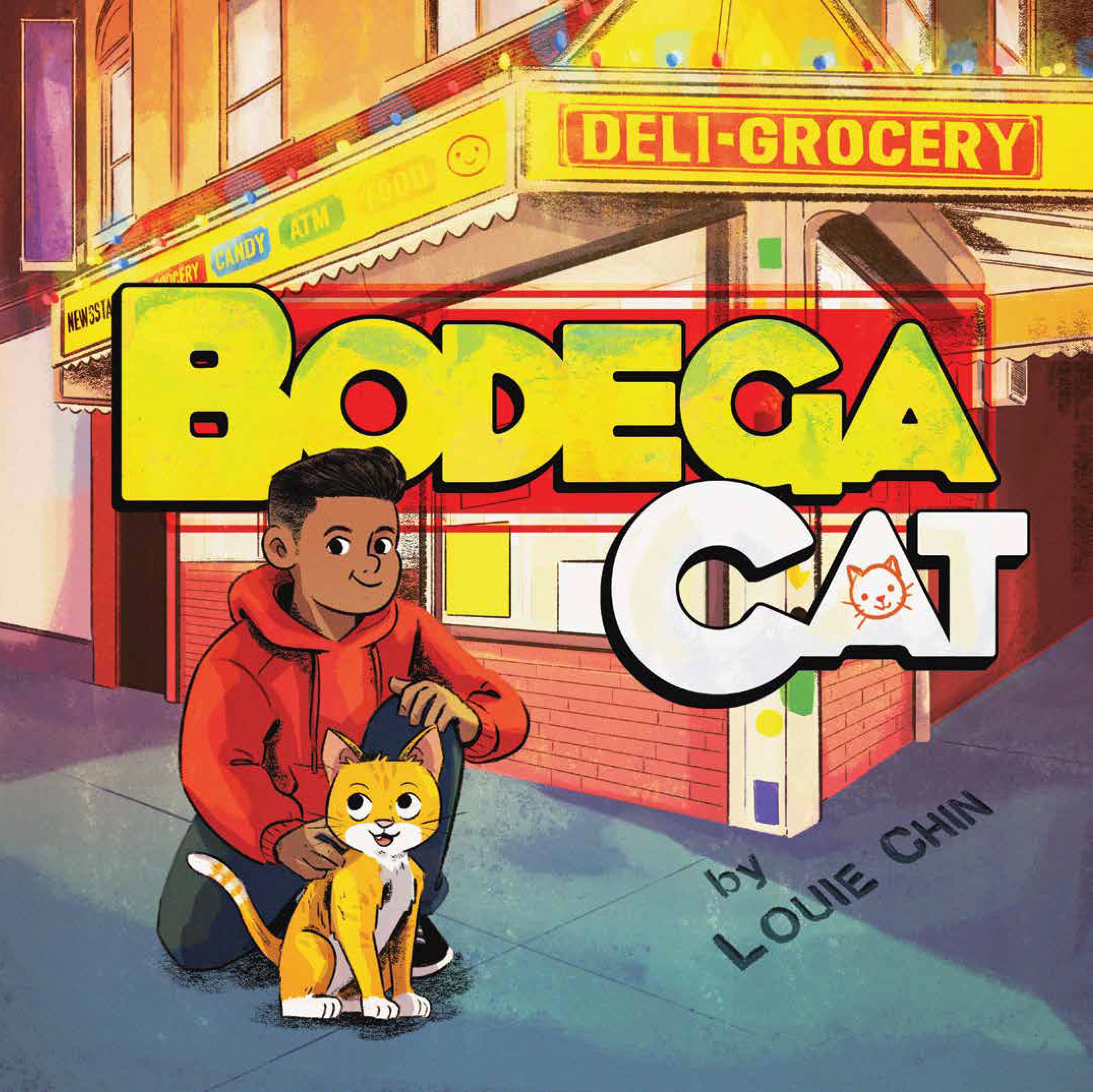 POW! Kids Book Launch & Sunday Story Time: Bodega Cat by Louie Chin