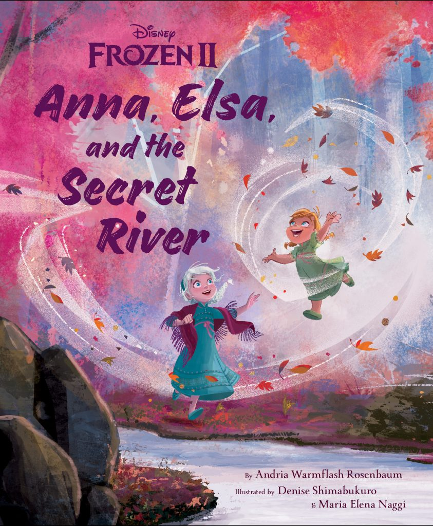 A Frozen Sunday Story Time: Anna, Elsa, and the Secret River
