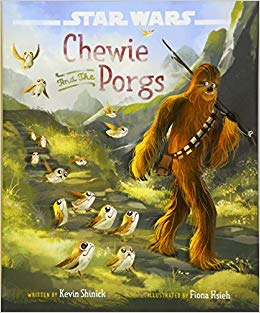 Sunday Story Time: Star Wars: Chewie and the Porgs