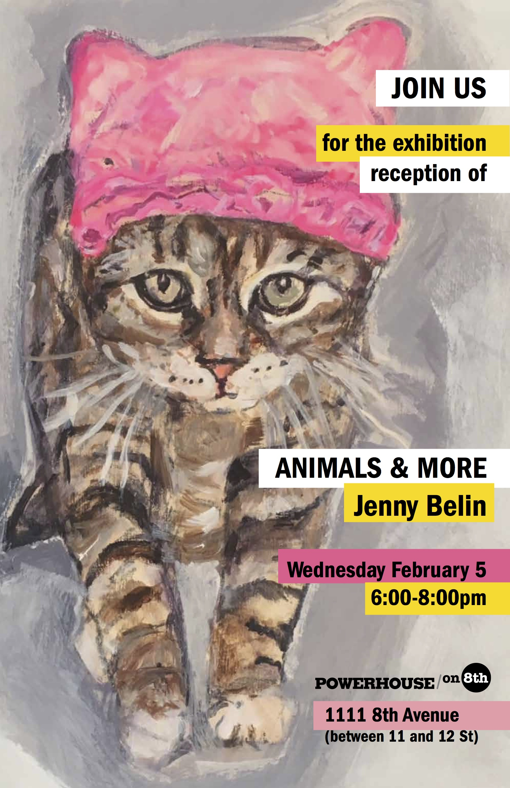 Opening Art Reception: Animals & More by Jenny Belin
